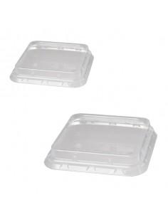 Tapa biodegradable para cajas de plástico RPET