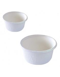 Tarrina pulpa de caña de azúcar blanca 60 ml