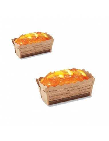 Mini caja cartón kraft plum cake para...