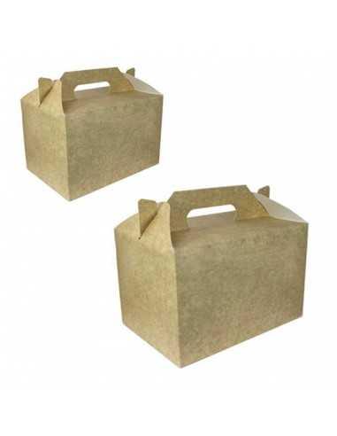Caja de cartón kraft para picnic...