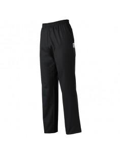 Pantalón de cocina unisex Coulisse negro cintura de goma. Varias tallas (1 Ud)
