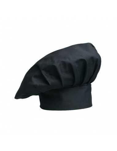Gorros de cocina unisex color negro