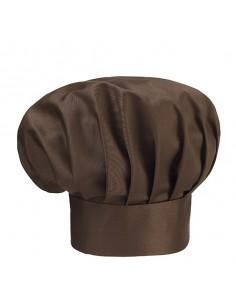 Gorros de cocina color marrón unisex