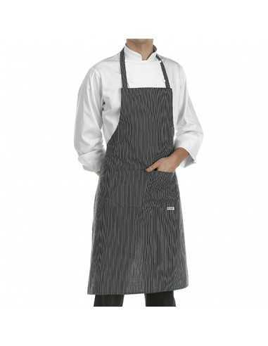 Delantal de cocina con peto unisex
