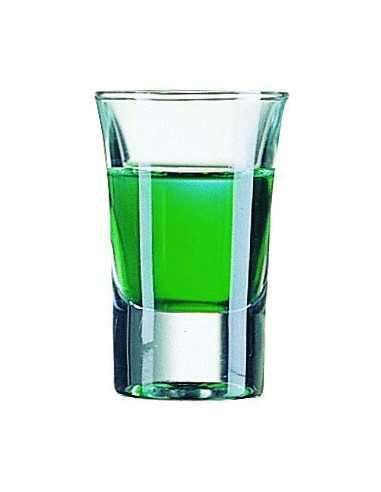 Vaso hot shot licor 4,5 x 7 cm 34 ml. (1 Ud) Precio unitario 1,02€