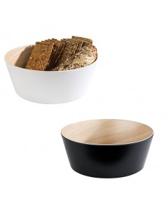 Bowl de melamina para buffet Frida ø26,5x10,5 cm 3,4 L. Varios colores (1 Ud)