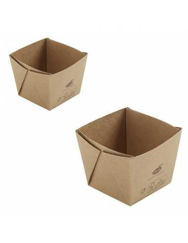 Caja biodegradable para comida cartón...