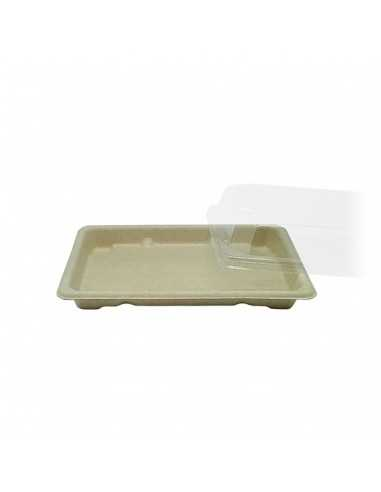 Envase sushi fibra de trigo + Tapa...