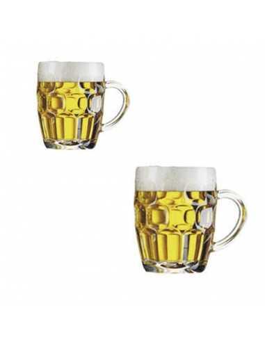 Jarra de cerveza de cristal Britania...