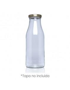 Botella de cristal para caldos o cremas