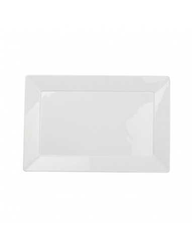 Fuente rectangular colección Solid de material siloxiht