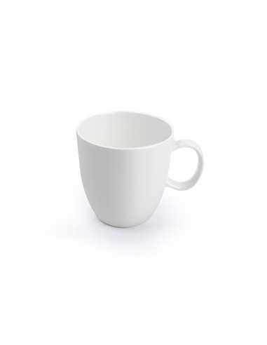 Taza de café Perla Siloxiht blanca