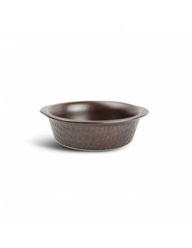 Cazuela porcelana horno bronce Brass 15x4 cm