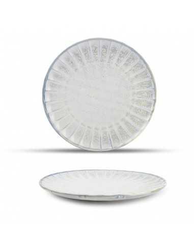 Plato llano de porcelana Atlas 26 cm