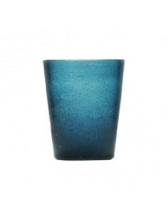 Vasos de cristal masa color 300 ml. Varios colores (6 Uds)