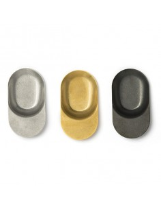 Cuchara degustación acero inox espátula Vintage 7,1 cm varios colores