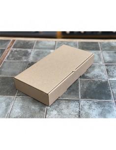 Caja kraft microcanal no parafinada 30x15x5cm (100 Uds)