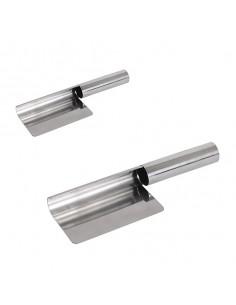 Recogedor de migas acero inox 21 cm (1 Ud)