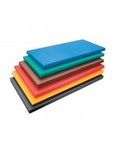 Tabla de corte polietileno cocina profesional. Varias medidas y colores (1 Ud)