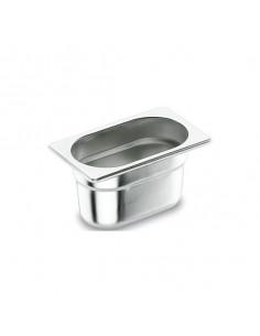 Cubeta acero inox tamaño GN 1/3 17,6x32,5 cm. Varias alturas (1 Ud)