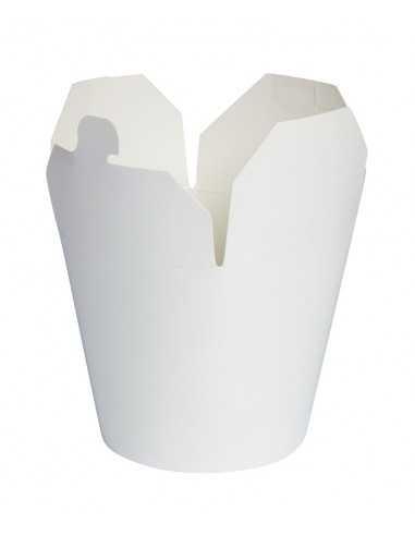 Caja blanca con solapas 950 ml (500 Uds) Precio unitario 0,44€