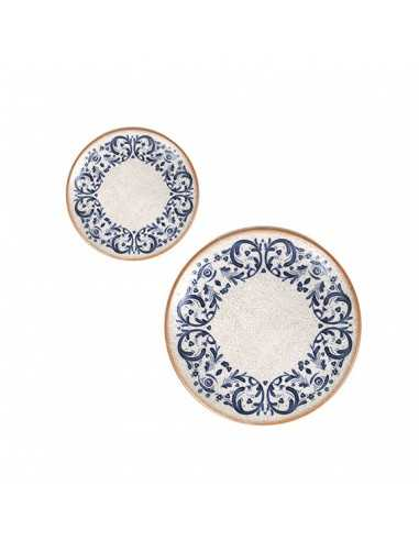 Plato pan porcelana Laudum 17x2,2 cm
