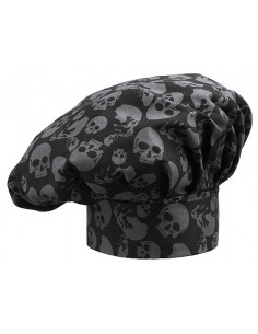Gorros de cocina unisex Skulls (2 Uds) Precio 19,60€/Ud