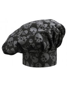Gorro cocina skulls