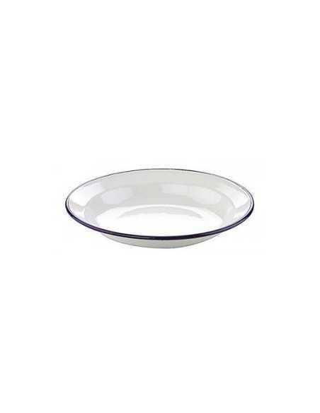 Plato hondo vintage blanco. Varias medidas (6 uds) Precio 3,17€/Ud