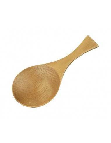 Cuchara presentación de madera ø4,5 x 9 cm (50 Uds) Precio Ud 0,52€