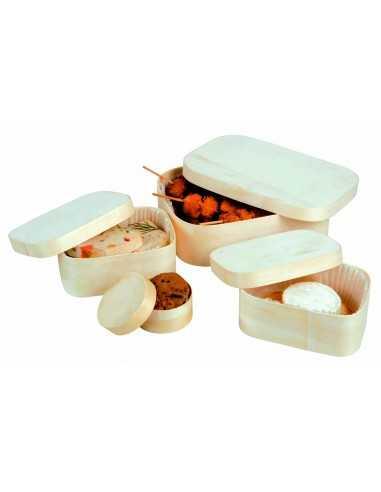 Caja madera con tapa 11 x 8 x 5,5 cm (100 Uds) Precio unitario 1,59€