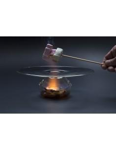Plato vulcano de borosilicato XS (1 Ud)