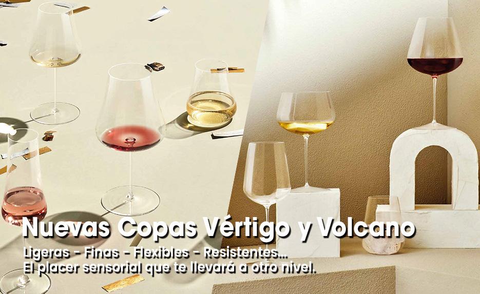 Nuevas copas Vértigo y Volcano