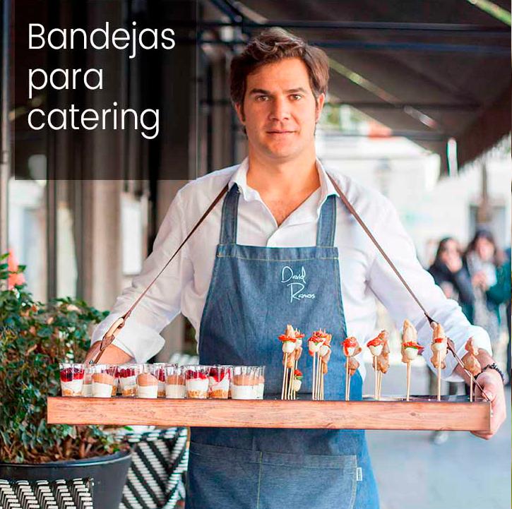 Bandejas para catering