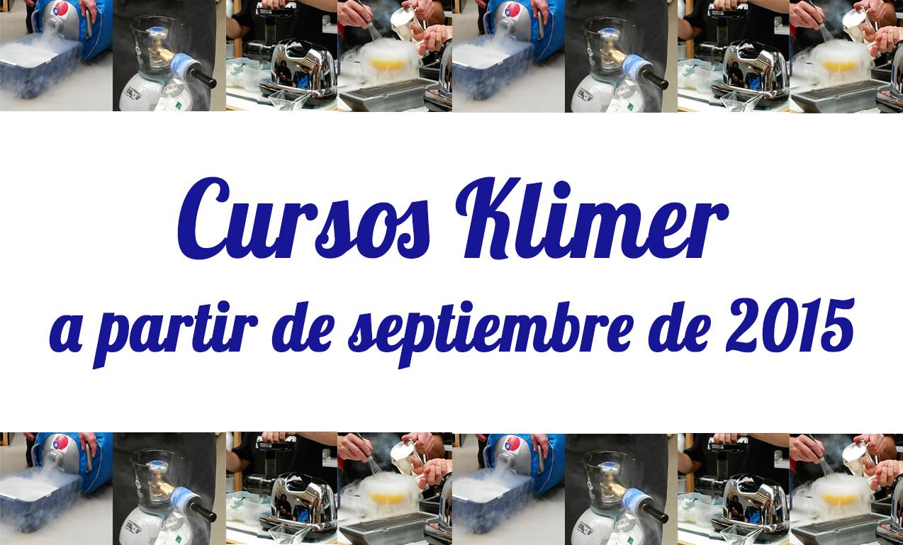 Nuevos cursos Klimer septiembre