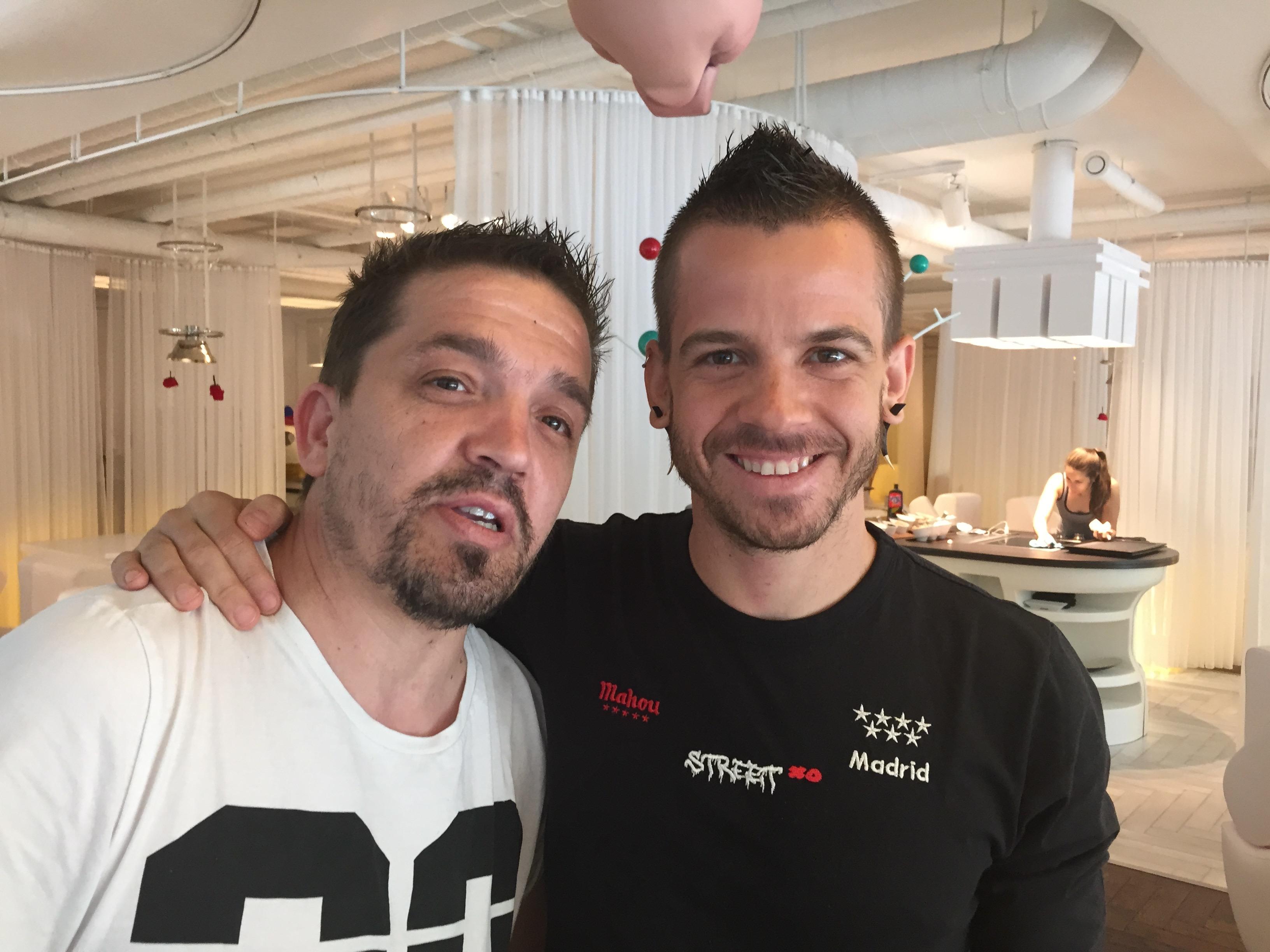 David Muñoz y Carlos Moreno