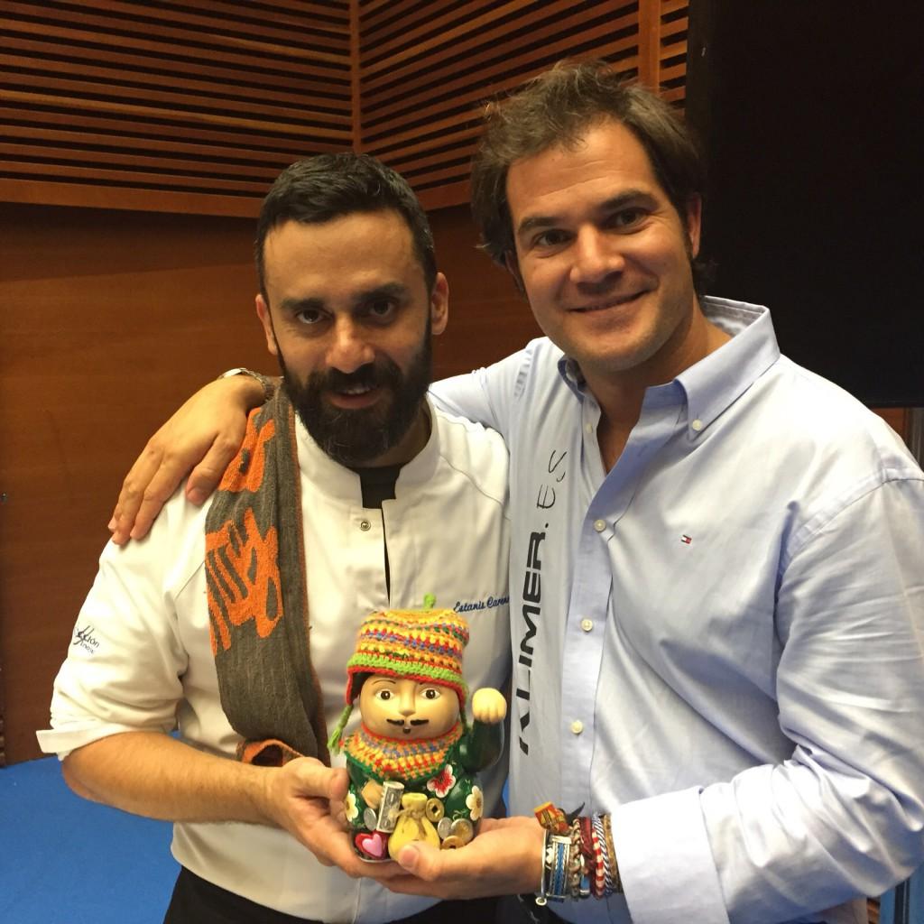 Estanis Carenzo y David Ramos.