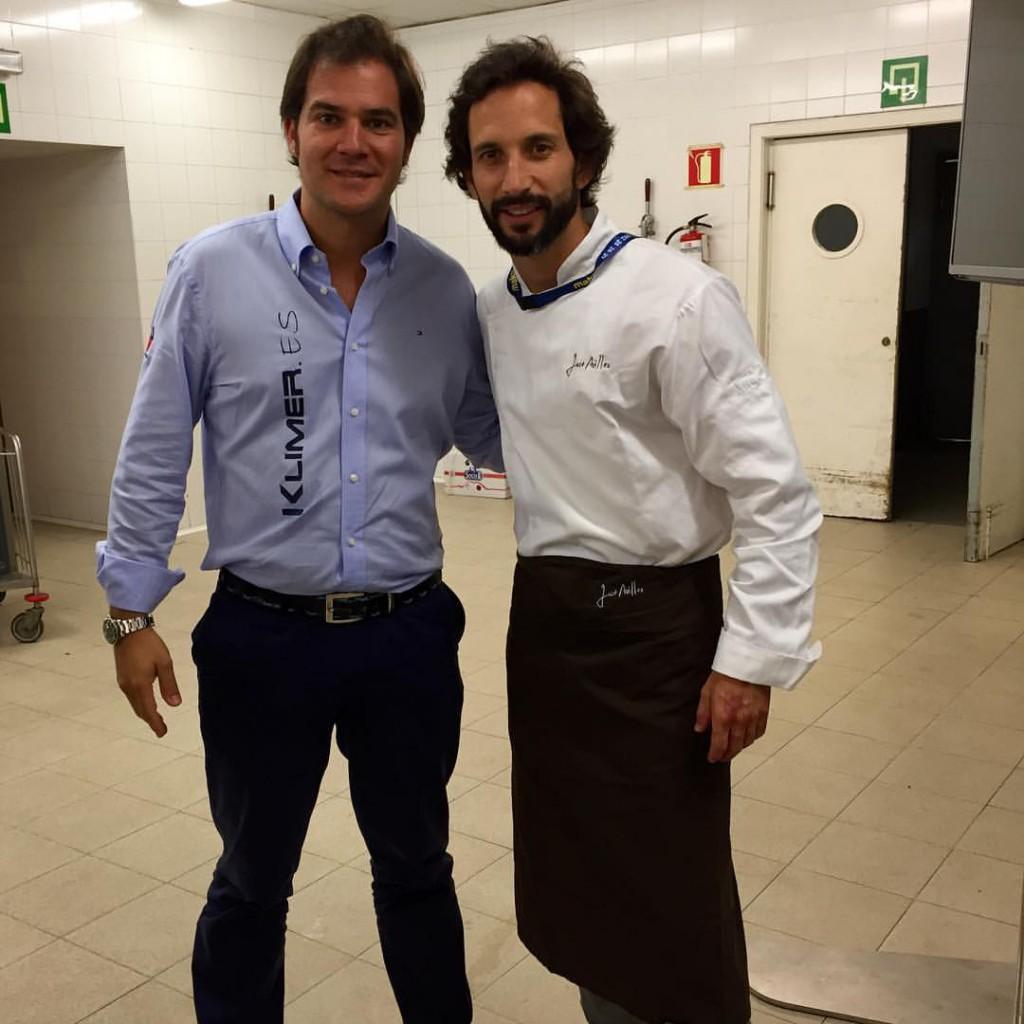 Jose Avillez y David Ramos.