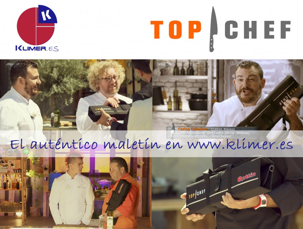 Maletin cuchillos Top Chef