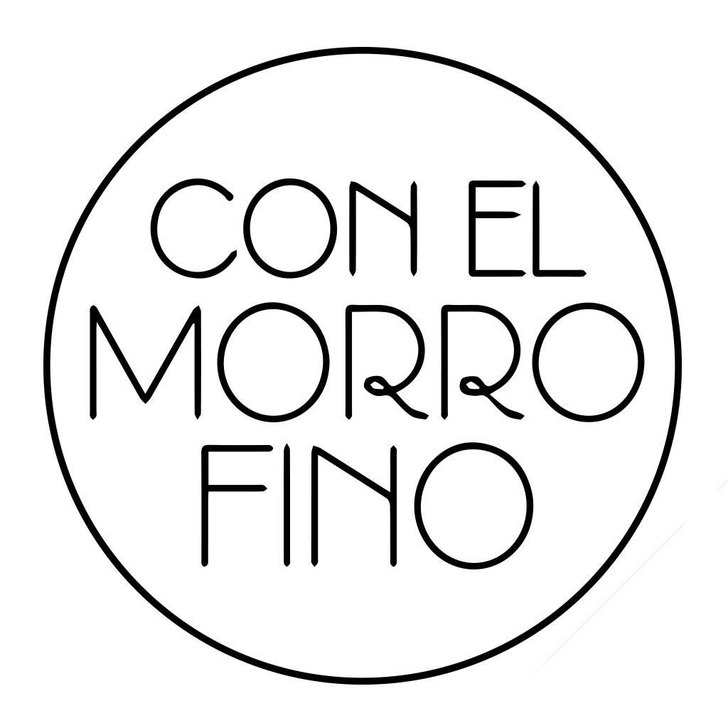 Logotipo Con el morro fino