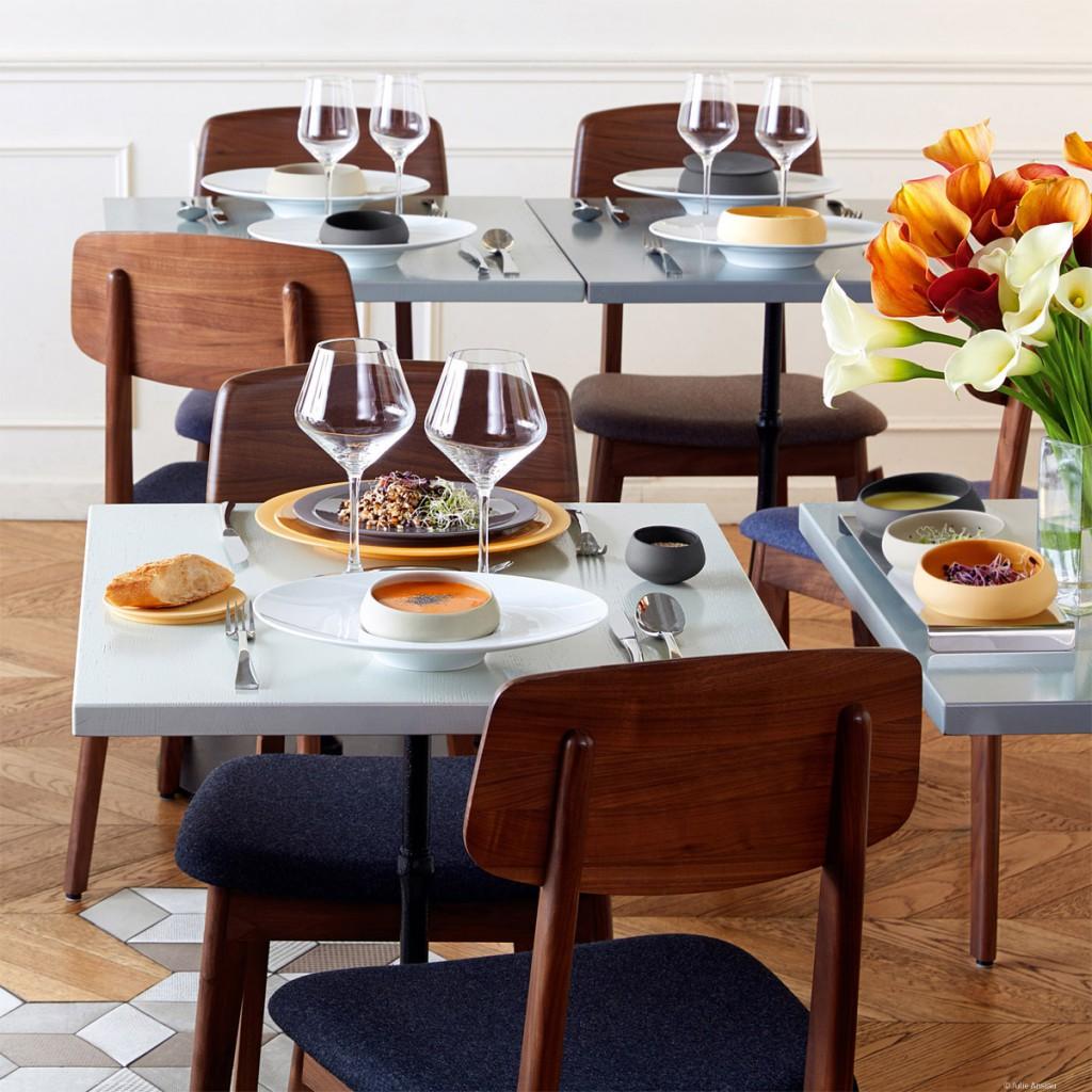 Comedores con espacios más íntimos