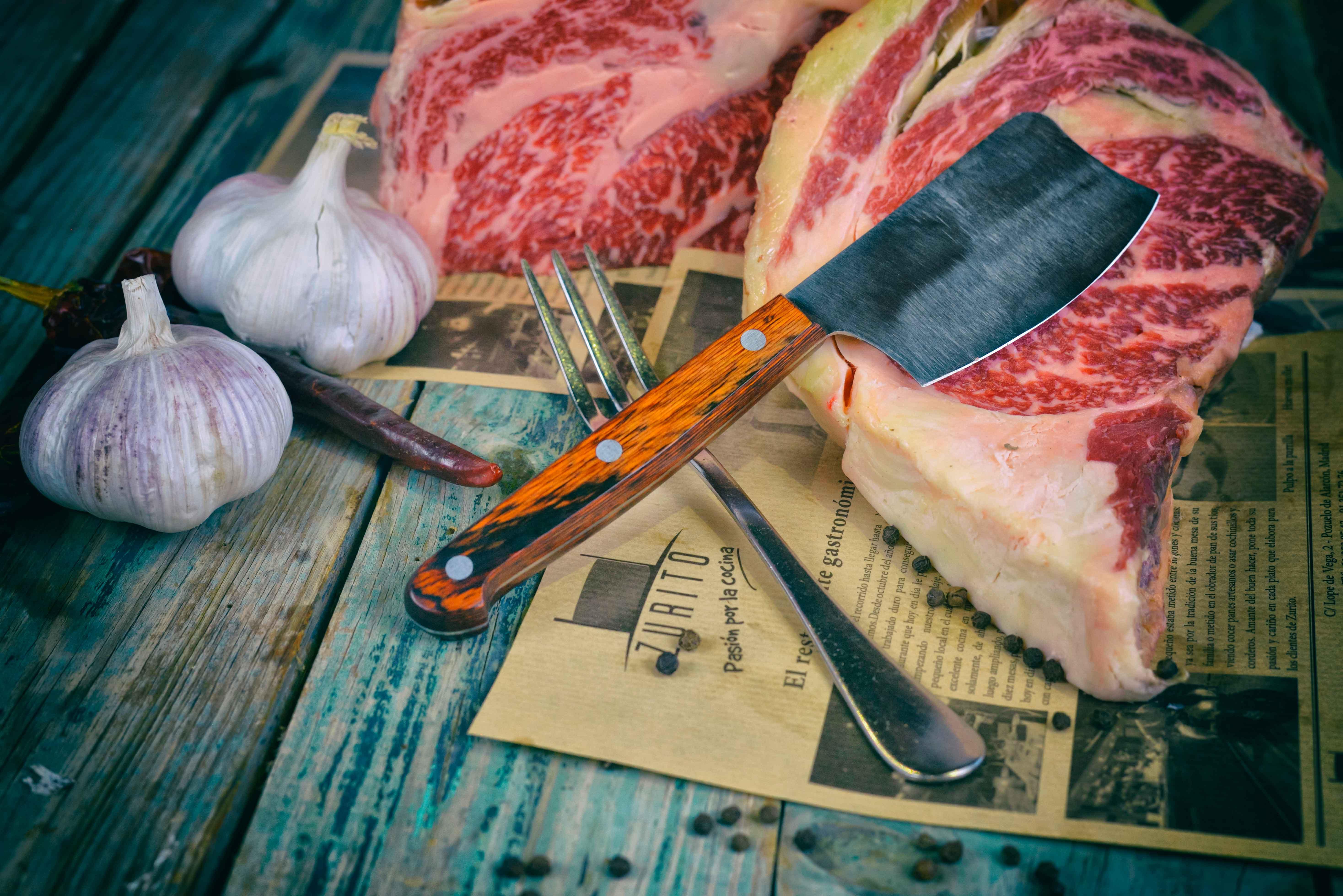 Cuchillo para carne diseño exclusivo Klimer