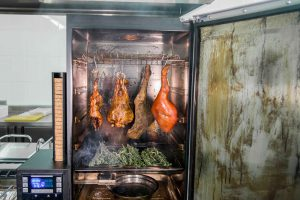 Ahumador digital para carne