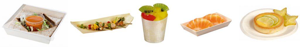 Productos en madera biodegradable