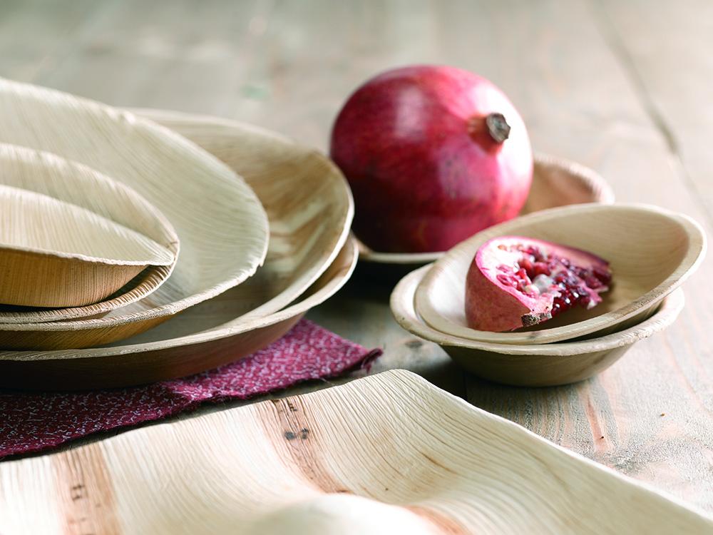Productos de hoja de palmera