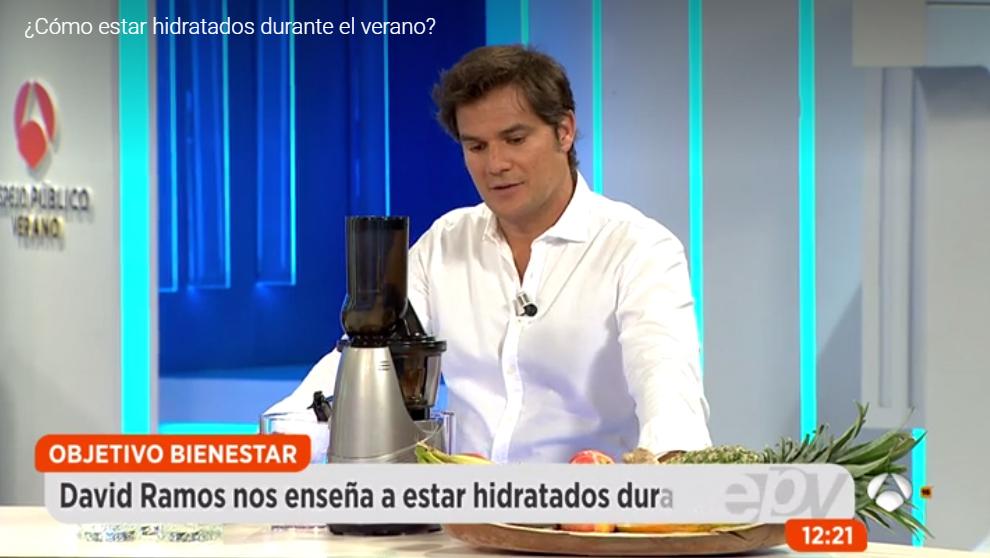 David Ramos en Espejo Publico de Antena3