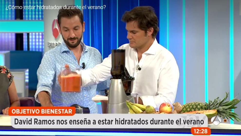 David Ramos, Objetivo bienestar en Espejo Publico de Antena3