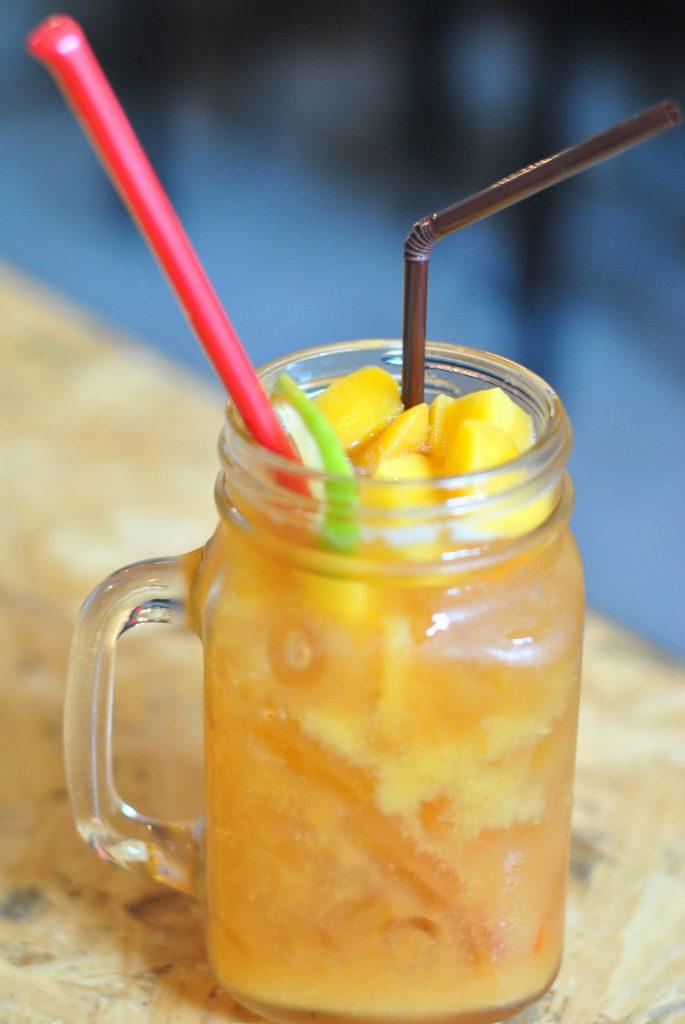 zumo de naranja y zanahoria