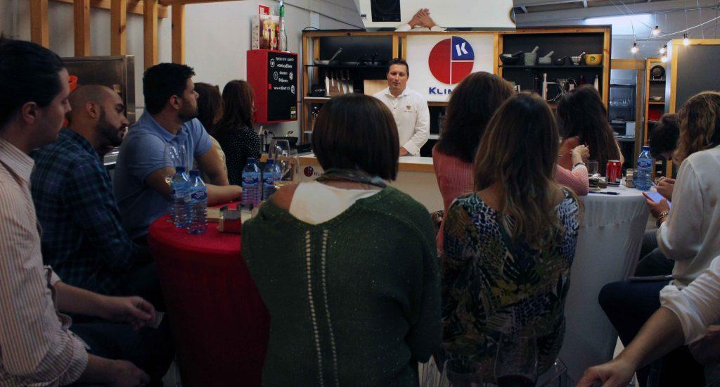 La prensa gastronomica en el evento de arroz al cuadrado