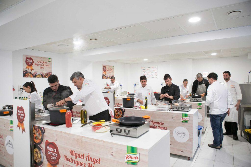 Cocinas concurso mejores arroces